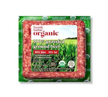 Organic 100% Grassfed 85_15 Ground Beef