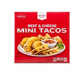 Frozen Beef & Cheese Mini Tacos